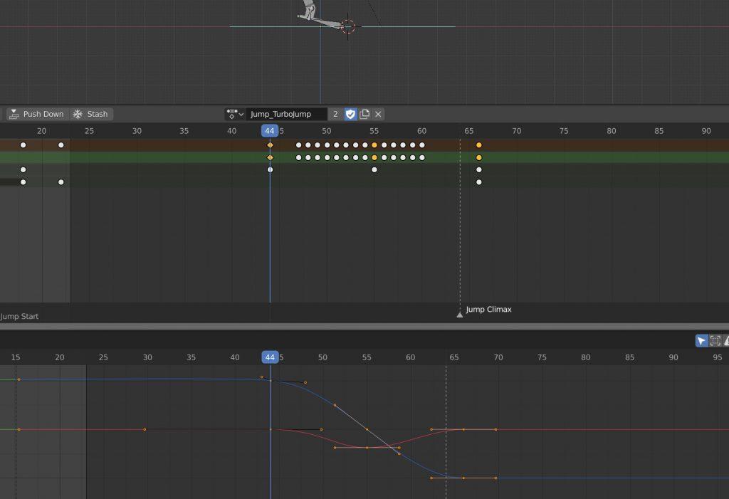 Blender Graph Editor